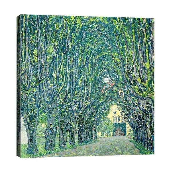 Густав Климт - Парковата алея на двореца Камер №7408