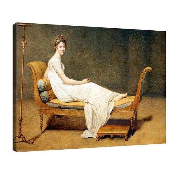 Жак-Луи Давид - Портрет на Мадам Рекамие №7829