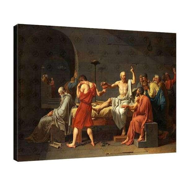 Жак-Луи Давид - Смъртта на Сократ №7848