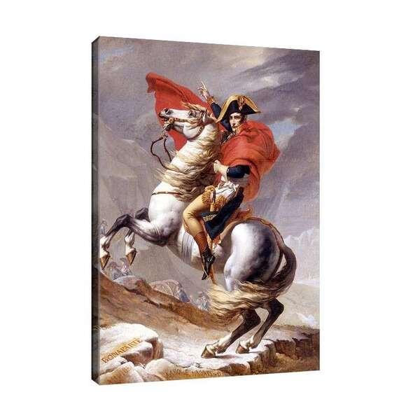 Жак-Луи Давид - Наполеон преминава Алпите №7870