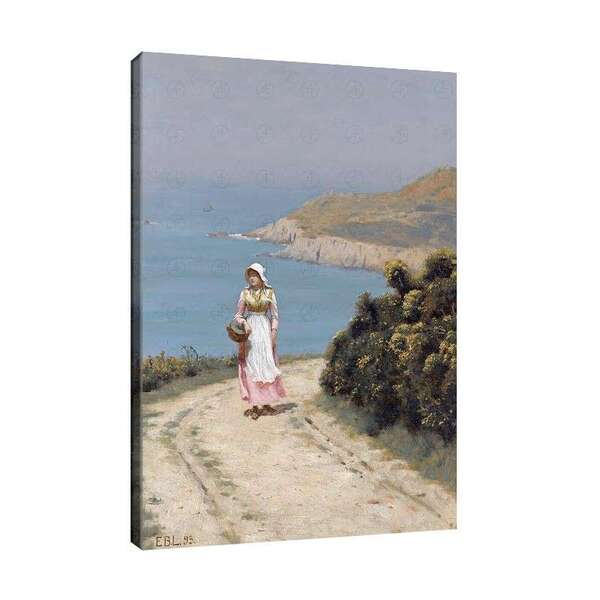 Едмънд Лейтън - Момиче на крайбрежния път №7874