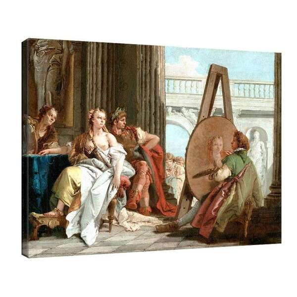 Джанбатиста - Александър Велики и Кампаса в работилницата на Апел №7893