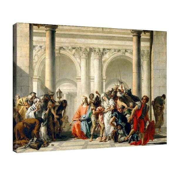 Джанбатиста - Христос и грешницата обвинена в прелюбодеяние №7919