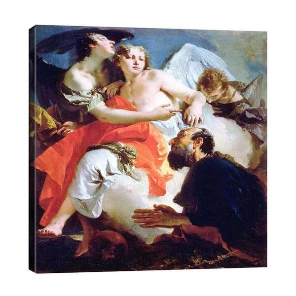 Джанбатиста - Авраам и трите ангела №7923