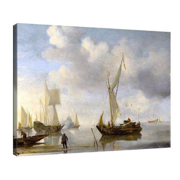Вилем ван де Велде Стари - Холандски платноходи №7944