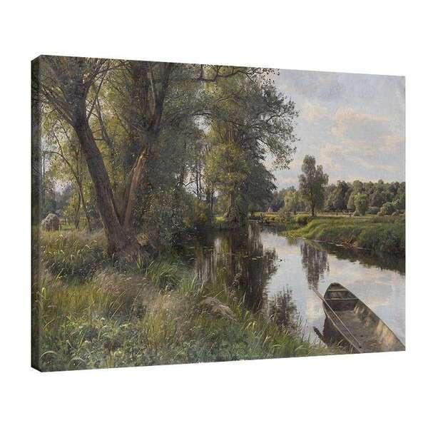 Педер Морк Мьонстед - Летен пейзаж (1911) №7952