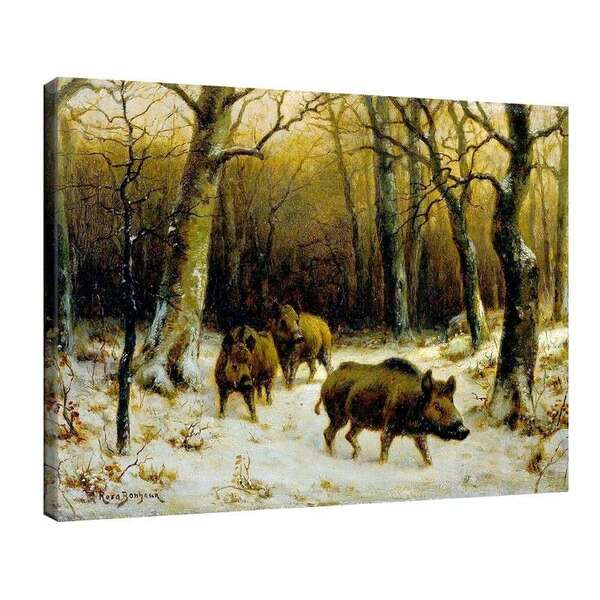 Роза Боньор - Диви свине в снега №7955