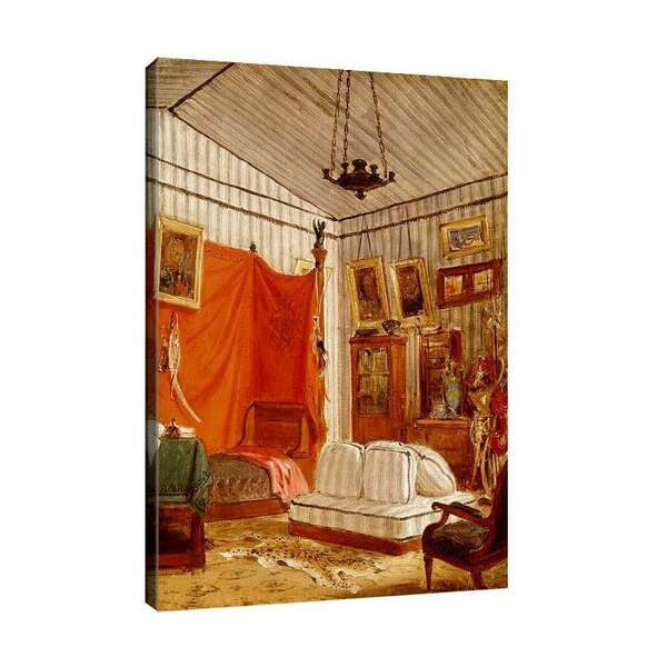 Йожен Дьолакроа - Спалнята на граф де Морне №7966