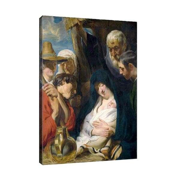 Якоб Йорданс - Поклонение на пастирите №7971