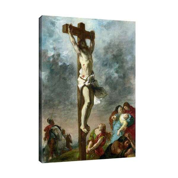 Йожен Дьолакроа - Христос на кръста №7981