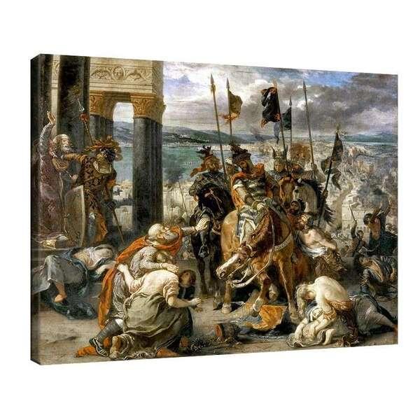 Йожен Дьолакроа - Превземането на Константинопол №7986