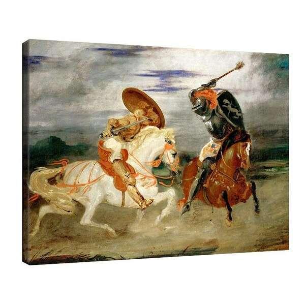 Йожен Дьолакроа - Рицарски двубой №7990