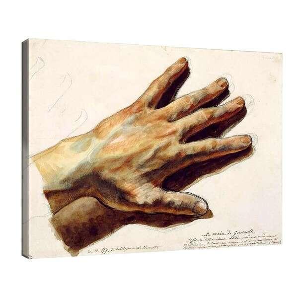 Йожен Дьолакроа - Ръката на Жерико №7993