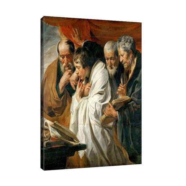 Якоб Йорданс - Четирите евангелиста №7994