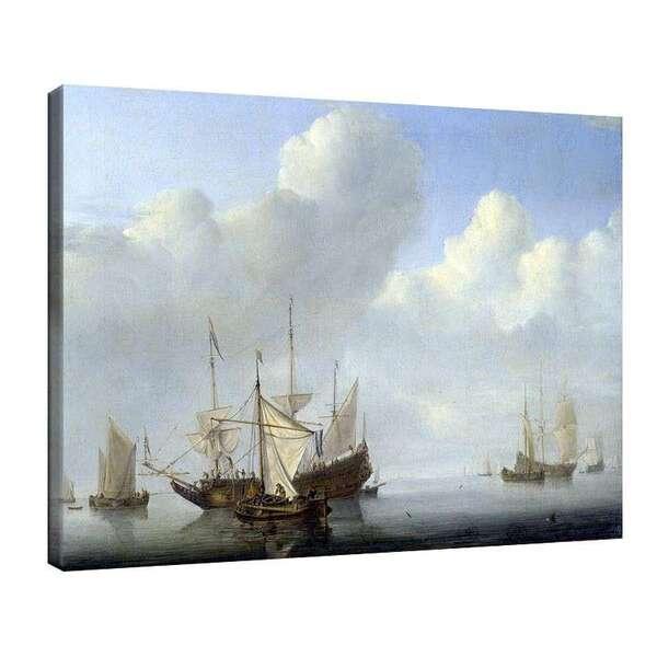 Вилем ван де Велде Стари - Закотвен холандски кораб №7999