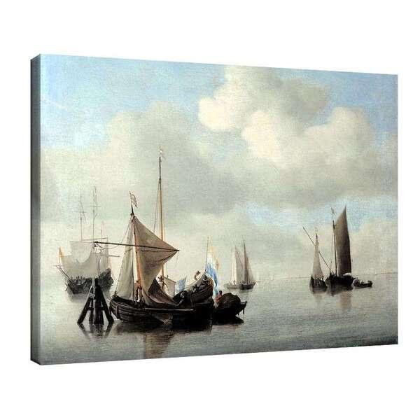 Вилем ван де Велде Стари - Кораби в спокойно море №8009