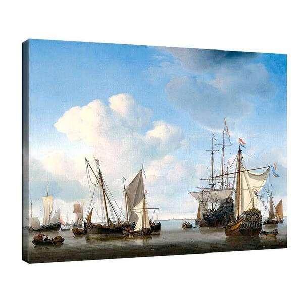 Вилем ван де Велде Стари - Кораби на рейд №8022