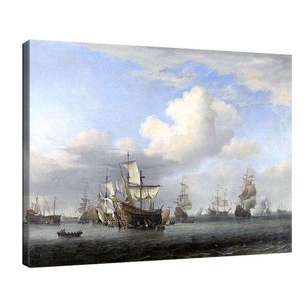 Вилем ван де Велде Стари - Морска битка №8025