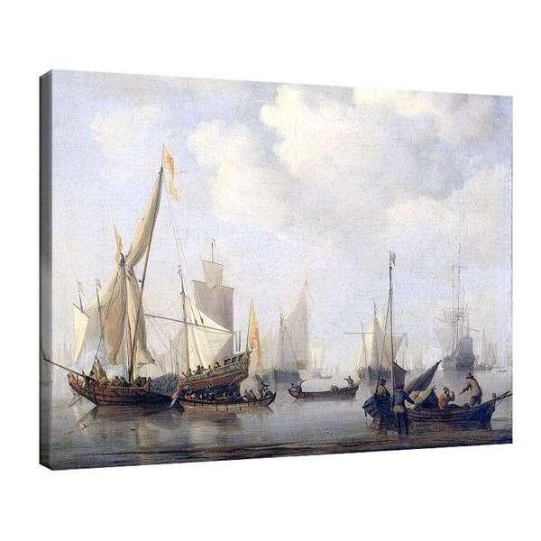 Вилем ван де Велде Стари - Спокойствие №8031