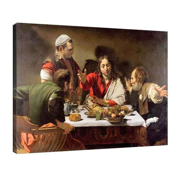 Караваджо - Вечеря в Емаус №8037