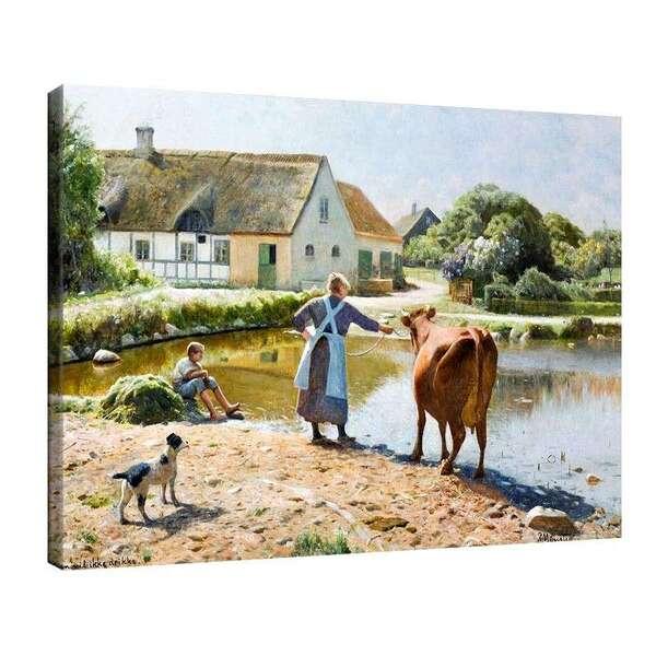 Педер Морк Мьонстед - Крава на водопой №8041
