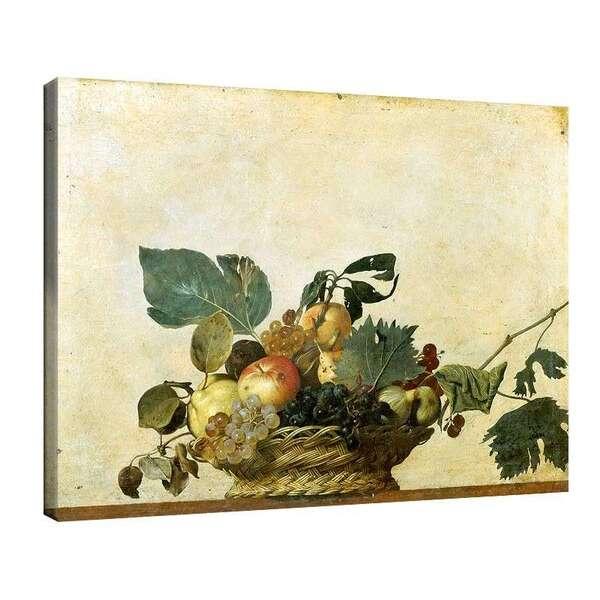 Караваджо - Кошница с плодове №8044