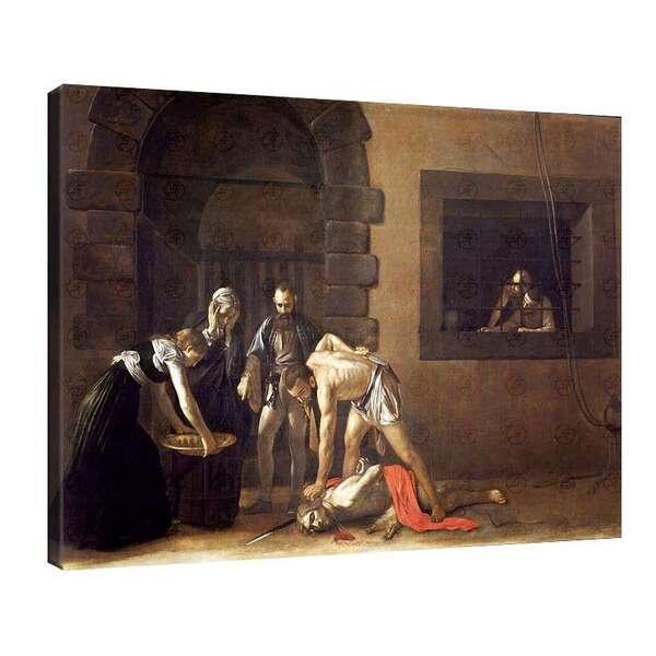 Караваджо - Обезглавяването на Йоан Кръстител №8054