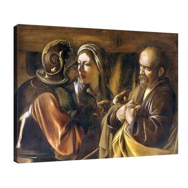 Караваджо - Отричането на Свети Петър №8057