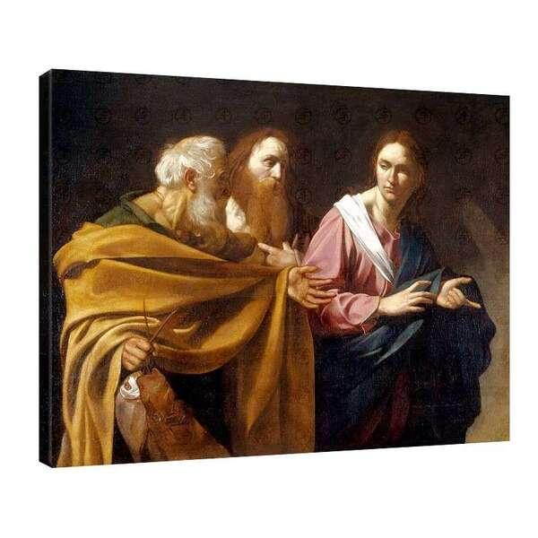 Караваджо - Призоваването на Свети Петър №8063