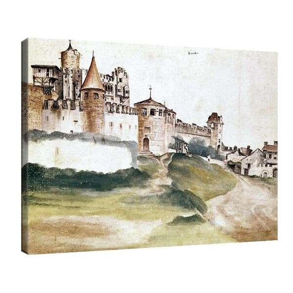 Албрехт Дюрер - Замък в Тренто №8064