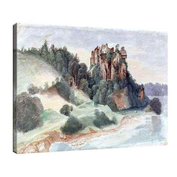 Албрехт Дюрер - Изглед към замъка от реката №8068