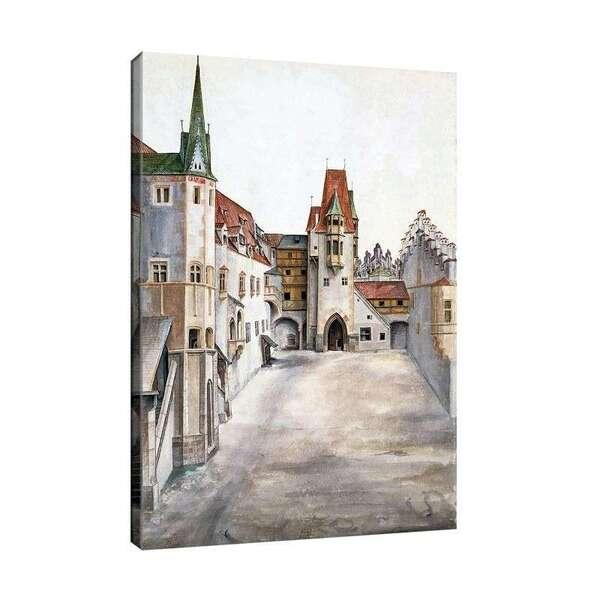 Албрехт Дюрер - Дворът на стария замък в Инсбрук при безоблачно време №8084