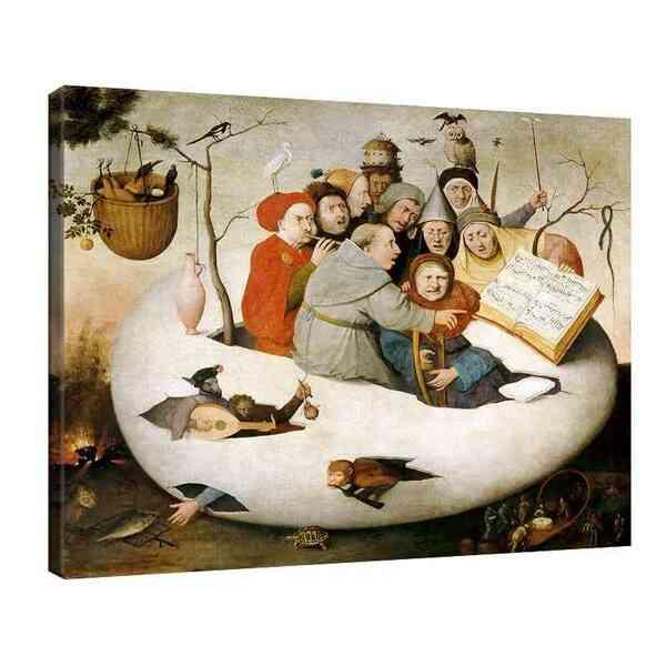 Йеронимус Бош - Концерт в яйце, копие на загубения оригинал №8119