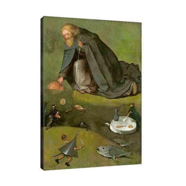 Йеронимус Бош - Изкушението на свети Антоний №8133