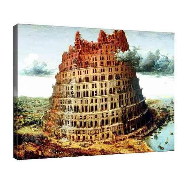 Питер Брьогел Старши - Вавилонската кула 2 №8152
