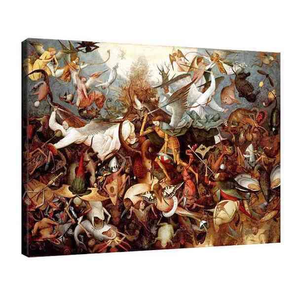 Питер Брьогел Старши - Падането на непокорните ангели №8164