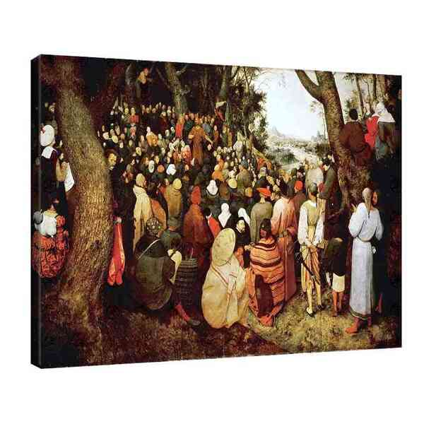 Питер Брьогел Старши - Проповедта на Йоан Кръстител №8171