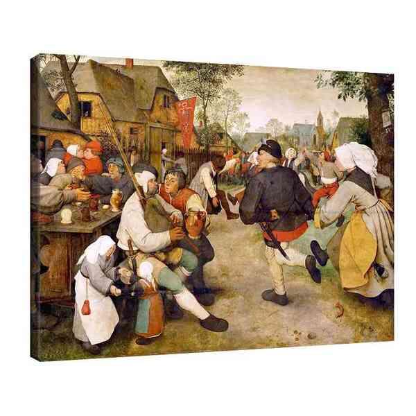 Питер Брьогел Старши - Селски танц №8177