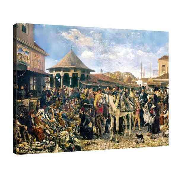 Иван Мърквичка - Пазар в Пловдив №8179