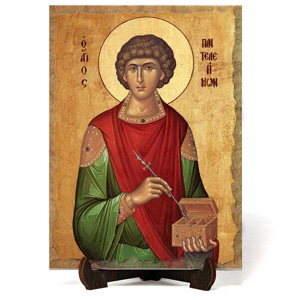 """Икона """"Свети Пантелеймон """" на Врачански Камък №9647"""