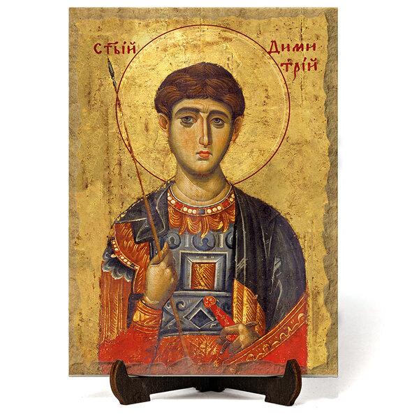 """Икона """"Свети великомъченик Димитър """" на Врачански Камък №9648"""