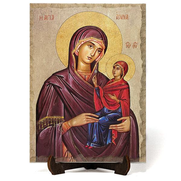 """Икона """"Света Анна """" на Врачански Камък 2 №9652"""