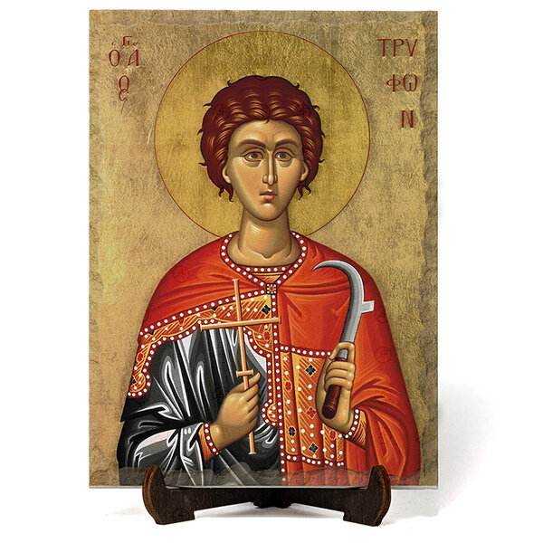 "Икона ""Свети Трифон "" на Врачански Камък №9653"