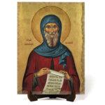 "Икона ""Свети Антоний Велики"" на Врачански Камък"