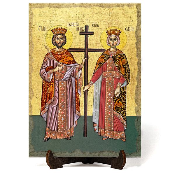 """Икона """"Свети Свети Константин и Елена"""" на Врачански Камък №9657"""