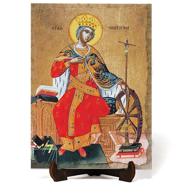 """Икона """"Света Екатерина """" на Врачански Камък №9661"""