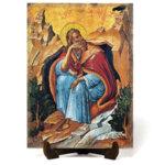 """Икона """"Свети пророк Илия"""" на Врачански Камък"""