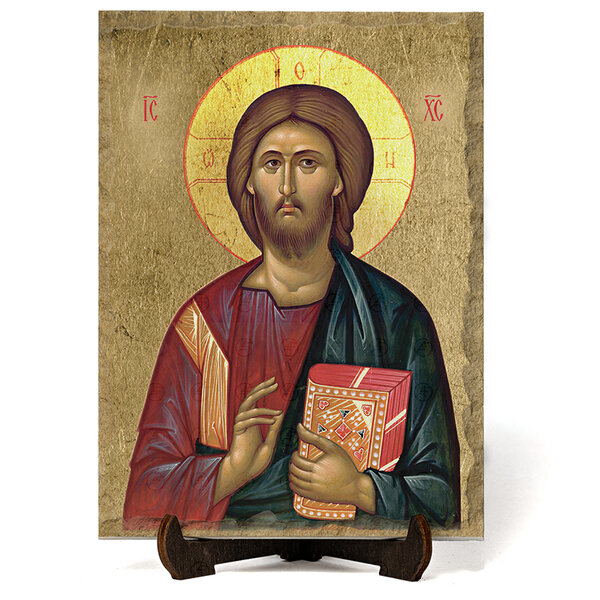 "Икона ""Иисус Христос Пантократор"" на Врачански Камък 2 №9666"