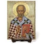 """Икона """"Свети Николай Мирликийски Чудотворец"""" на Врачански Камък 2"""