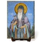 """Икона """"Свети преподобни Йоан Рилски Чудотворец"""" на Врачански Камък"""